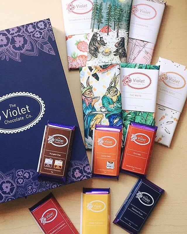 The Violet Chocolate Company Award Winning Collection Gift Box Edmonton