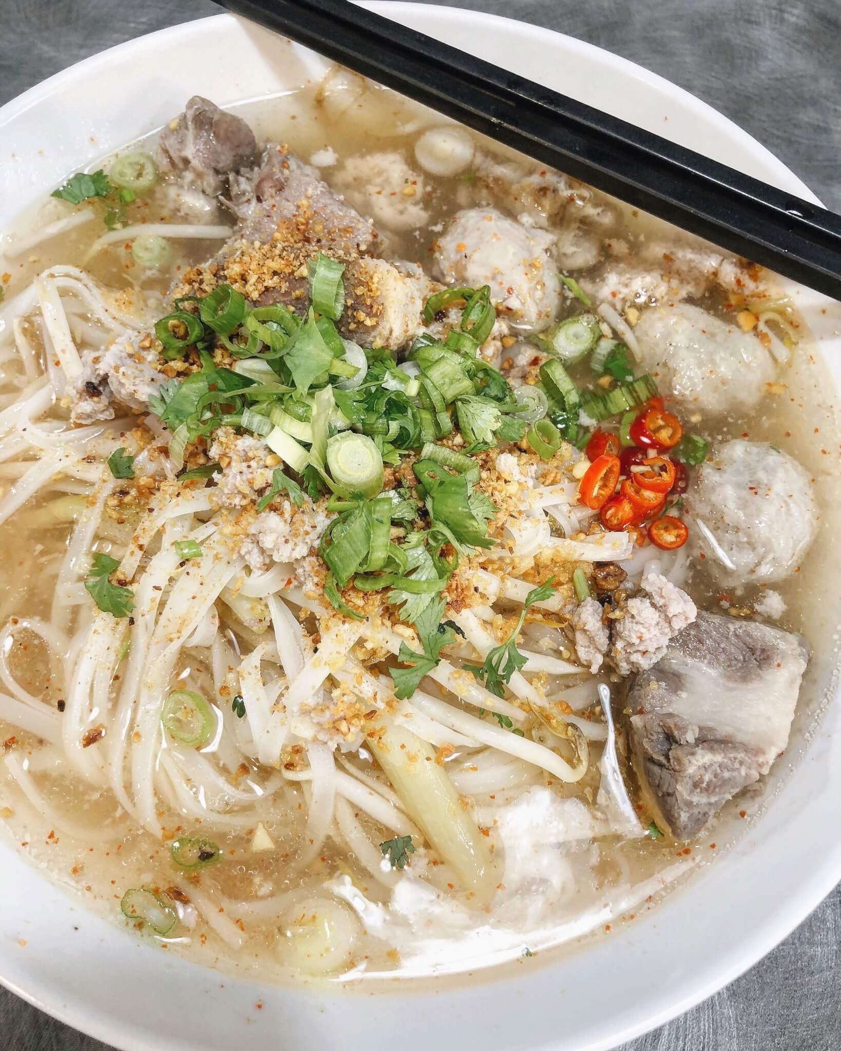 Yum Noodle Soup Chix Shack Explore Edmonton Thai Food