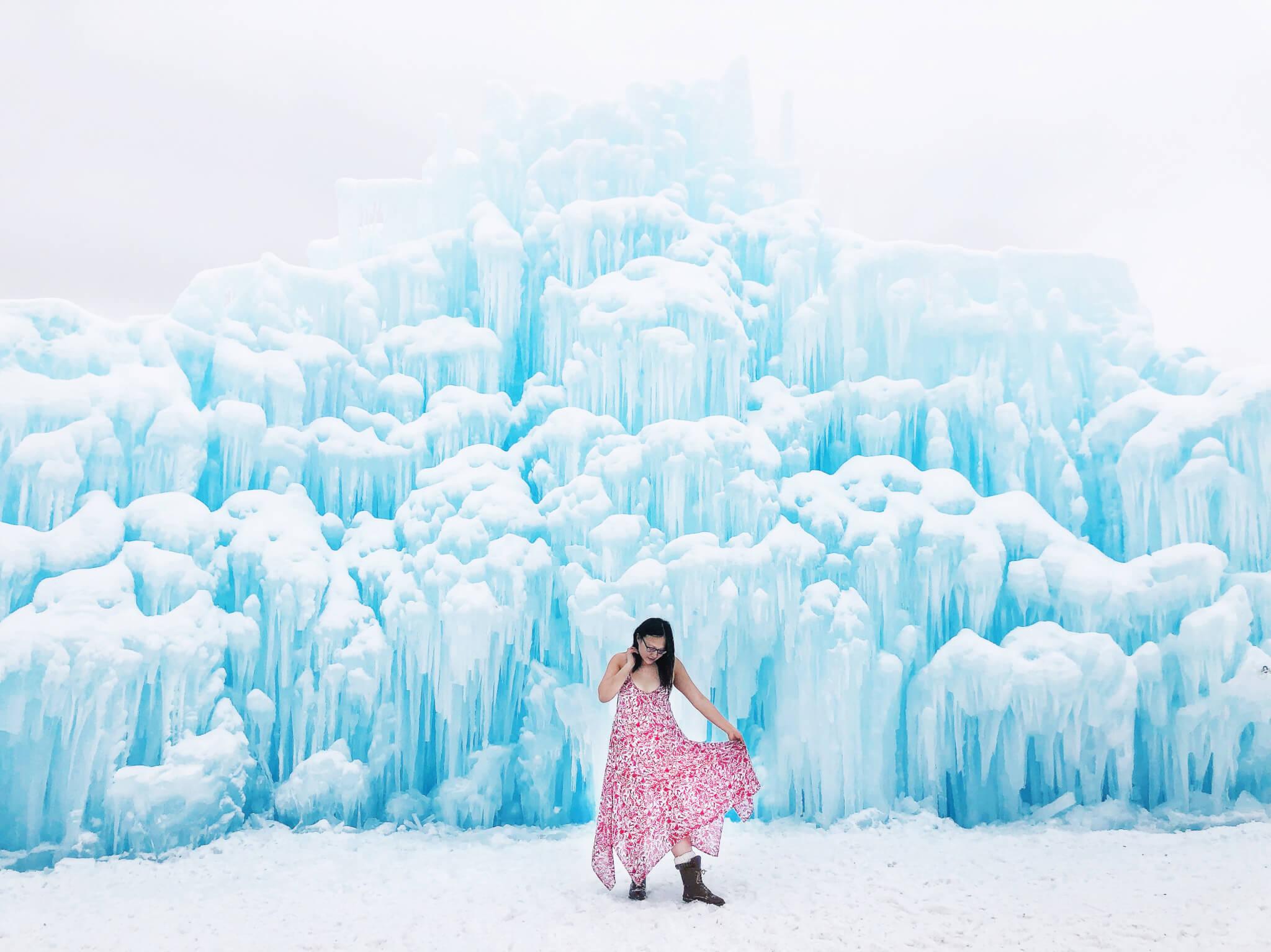 Explore Edmonton Ice Castle Hawrelak Park Winter City YEG