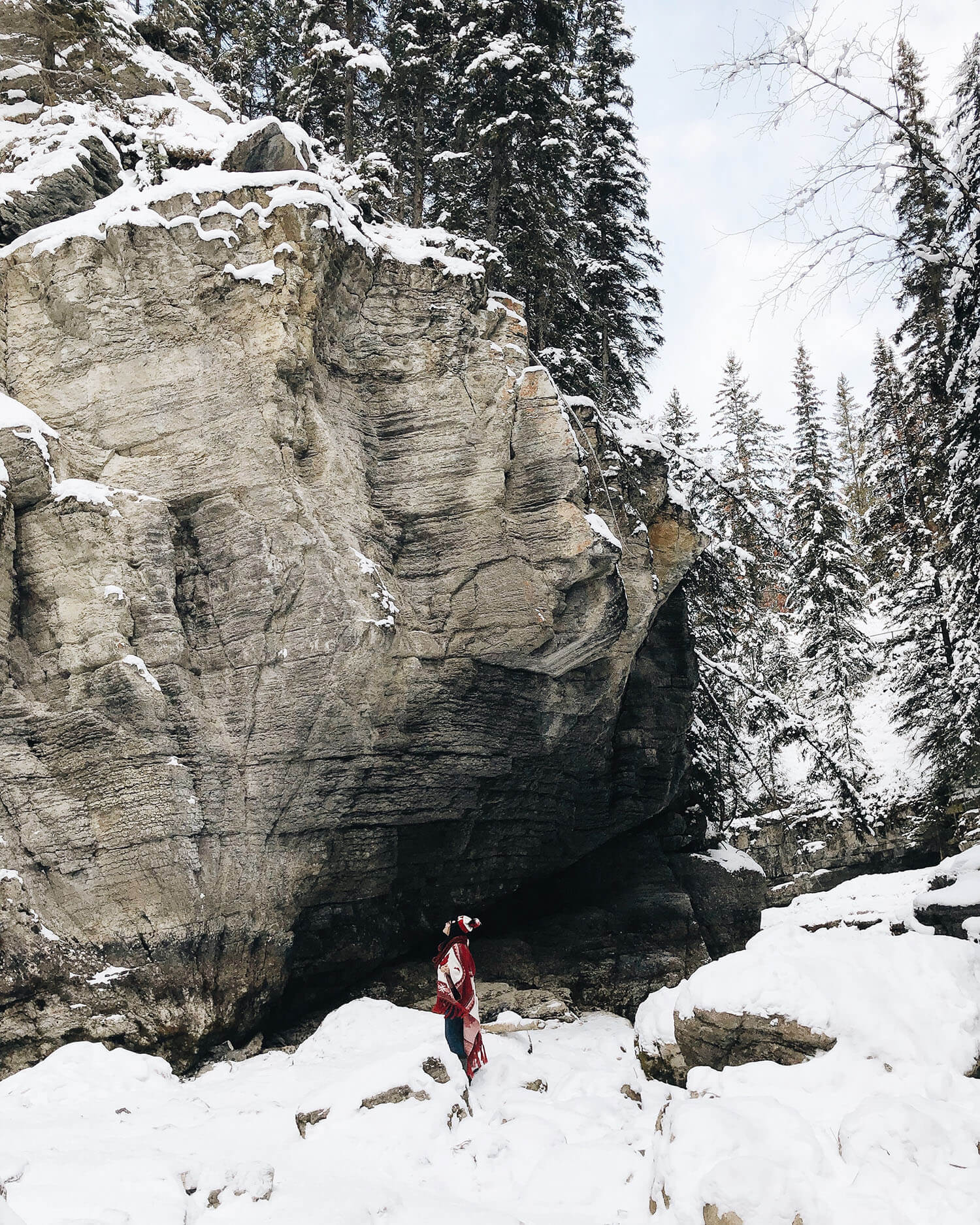 Maligne Canyon Ice Walk Tourism Jasper Explore Alberta Canada