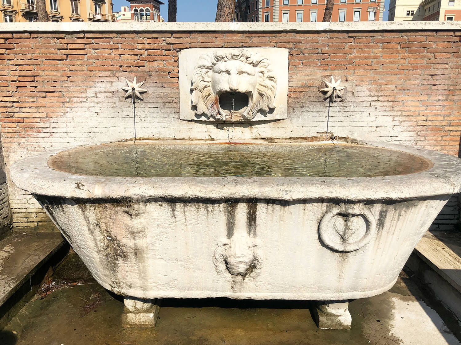 Rome Public Fountains Ancient Aquaducts Explore Travel Italy