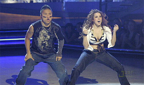 Hok Konishi and Jamie Goodwin perform during So You Think You Can Dance Season 3.