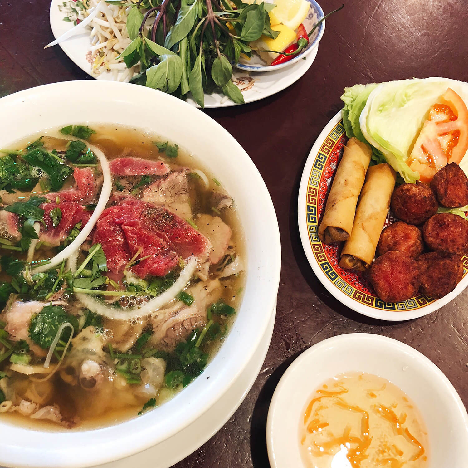 King Noodle House Pho Hoang Best of Edmonton Tomato Food & Drink