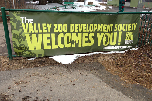 The Valley Zoo Development Society is the one that hooks you up with behind-the-scenes animal encounters!