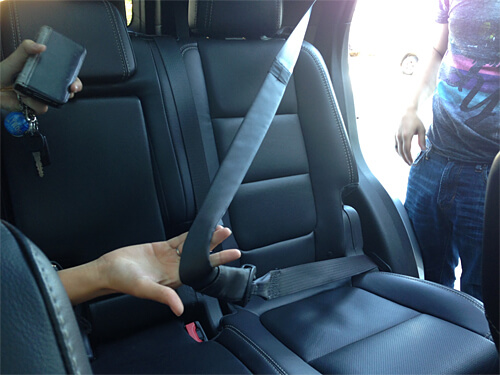 Inflatable backseat seat belts!