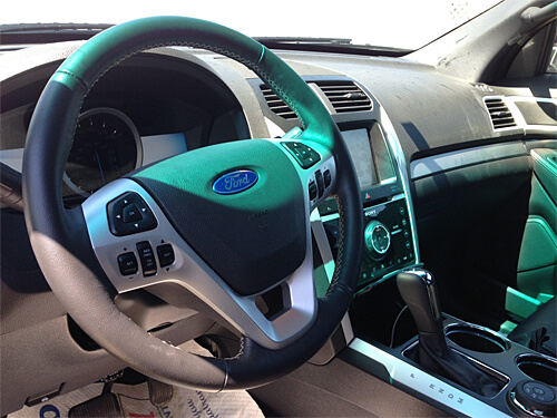 2013 Ford Explorer Sport.