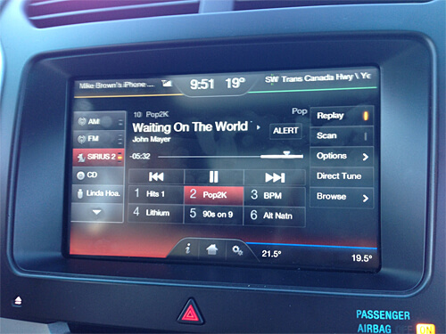 Entertainment options for the Ford Explorer are great.