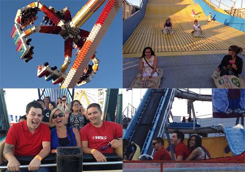 Midway fun at K-Days!