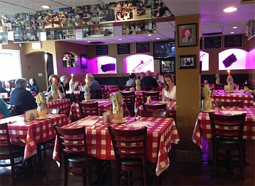 Inside Cafe Amore at 10807 106 Avenue.