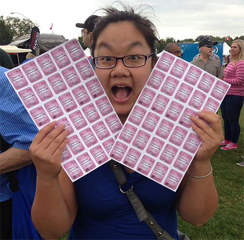 Pam + Me + 60 tickets = Lots of delicious fun at Heritage Festival!