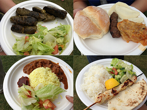 Some of the yums at Heritage Festival!