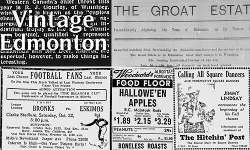 Edmonton's history through articles, photos, ads, audio, & film - on www.vintageedmonton.com