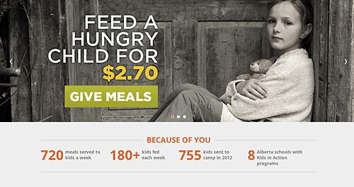 Hope Mission serves 720 meals per week across Alberta.