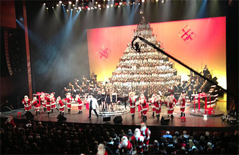 The Edmonton Singing Christmas Tree is an annual holiday tradition that helps Edmontonians in need!