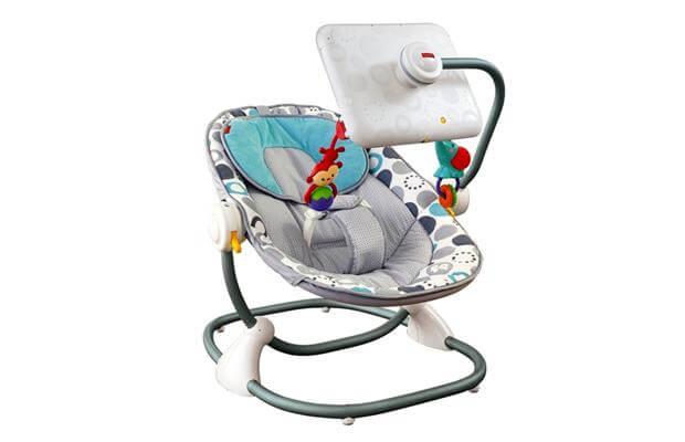 The Fisher-Price iPad Apptivity Seat.