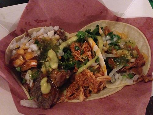 Tacos at Hawkers Market