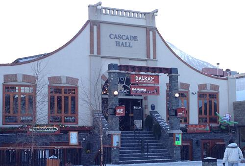 The Balkan at 120 Banff Ave.