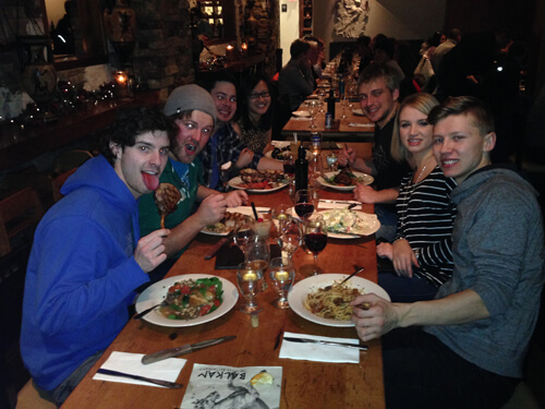 A great night at The Balkan in Banff!