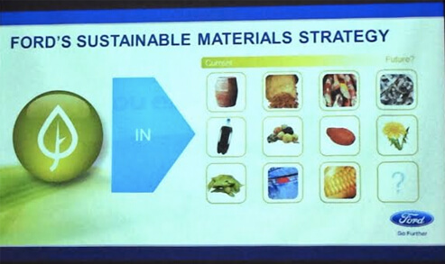 Ford is all about sustainability!