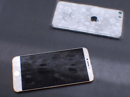 iPhone 6 photos leaked! (Real or not real? No one is quite sure yet) Photo Credit: MacRumours
