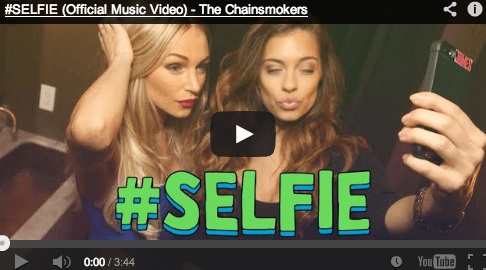 Have you heard The #Selfie Song?