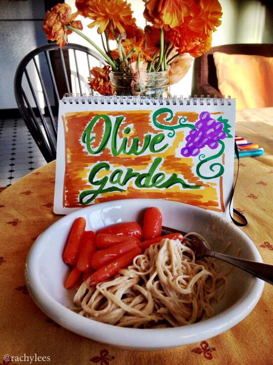 Olive Garden - Broke Canadian Art
