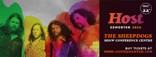 Host Edmonton's kick-off party includes an outstanding tasting event and performance from The Sheepdogs.