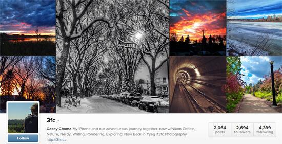 Edmonton Instagram - 3fc