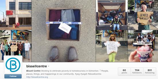 Edmonton Instagram - Bissell Centre
