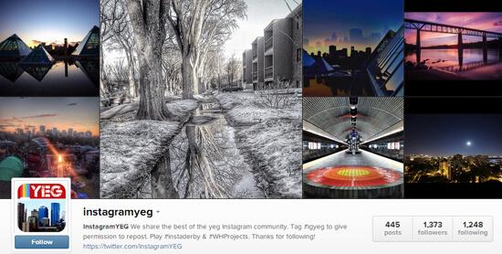 Edmonton Instagram - InstagramYEG