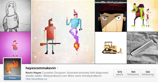 Edmonton Instagram - Kevin Hayes