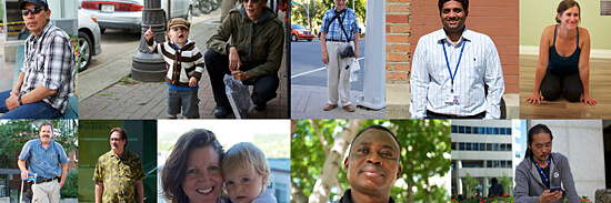 Faces of Edmonton is a new blog showcasing Edmonton's scenery, inhabitants, and stories.