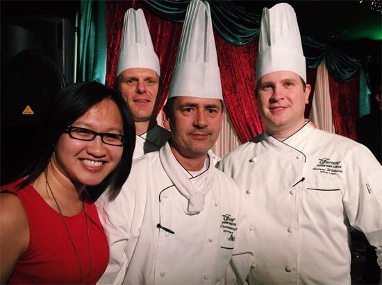 Talented chefs at the Fairmont Jasper Park Lodge!