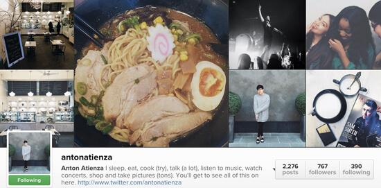Edmonton Instagram Users - Antonatienza