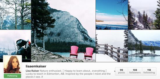 Edmonton Instagram Users- lisaemkaiser