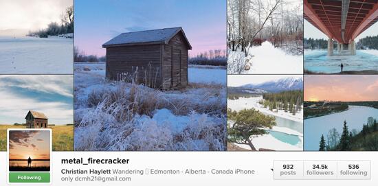Edmonton Instagram Users - metal_firecracker