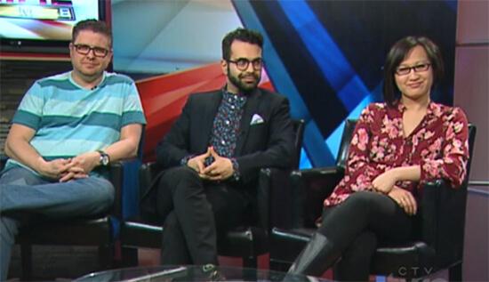 Alberta Primetime Pop Culture Panel (February 4, 2015)