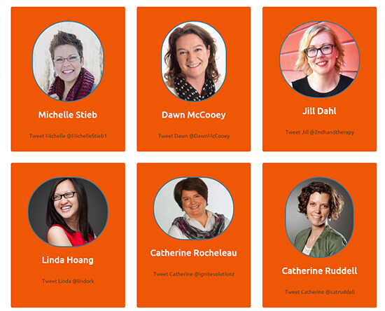 I'm leading a social media workshop at the Spark Women's Leadership Conference!