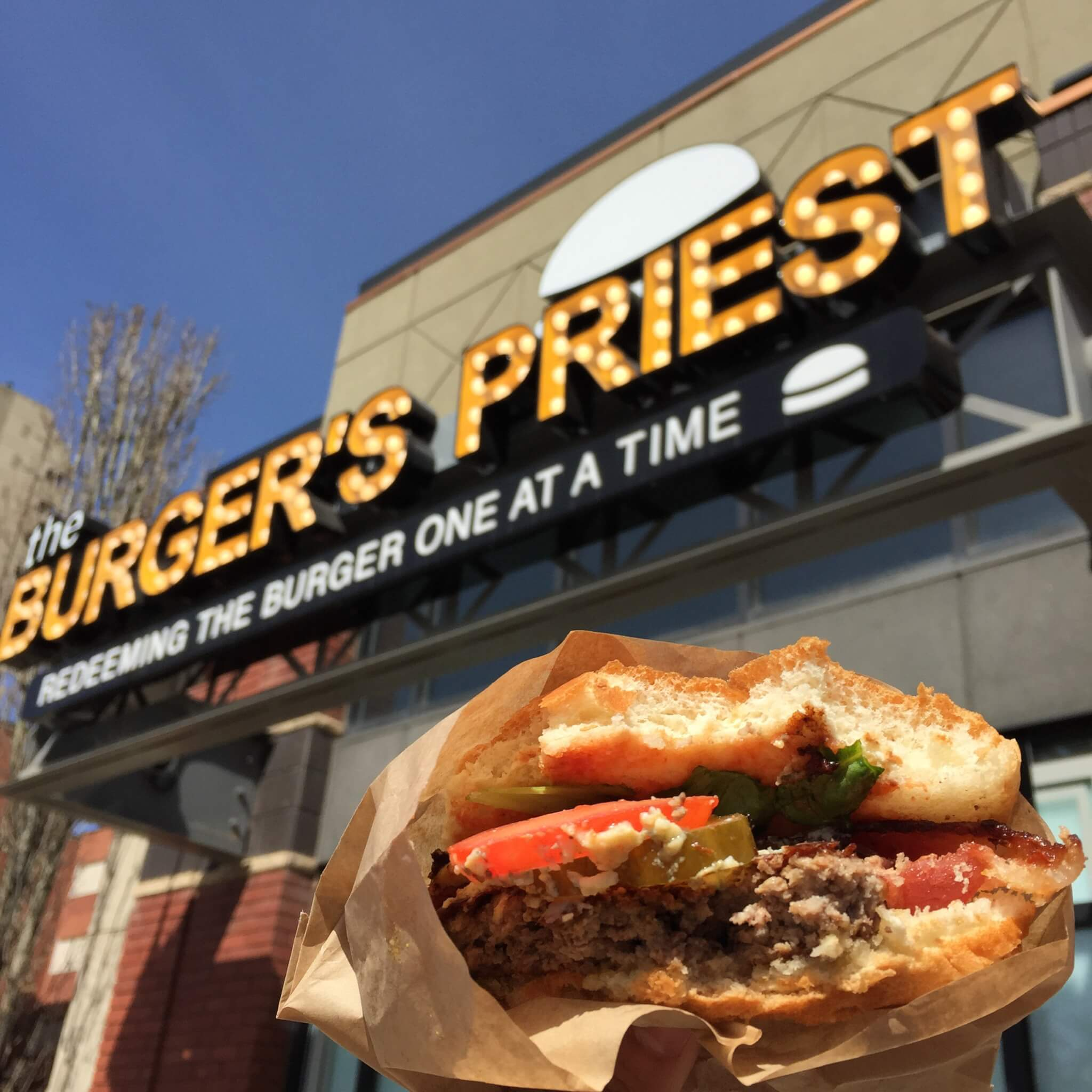 The Burger's Priest.