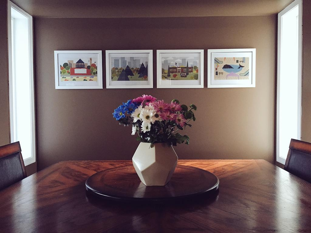 New home decor from local artist Jason Blower!