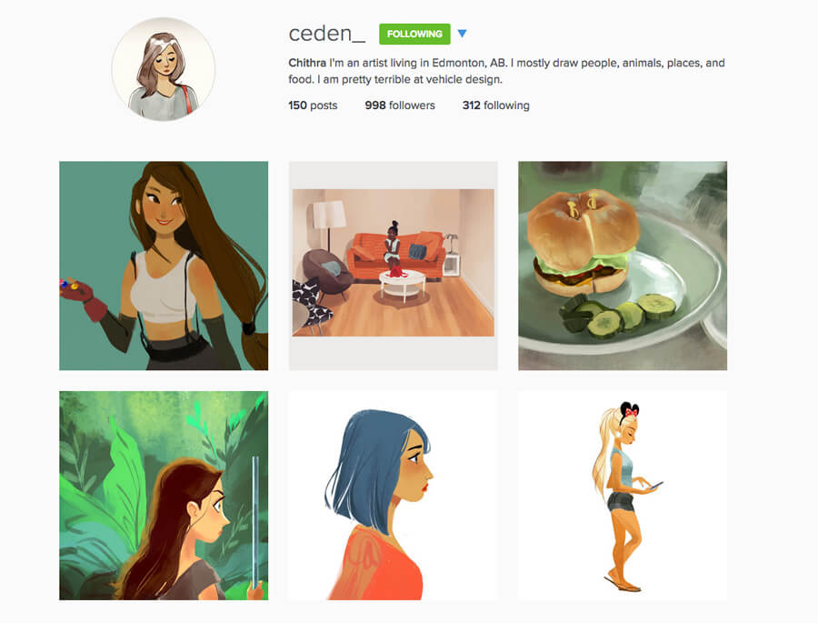 Edmonton Instagram Users - ceden_