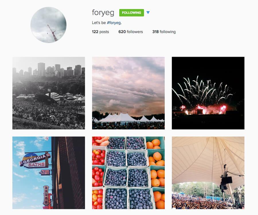 Edmonton Instagram Users - foryeg