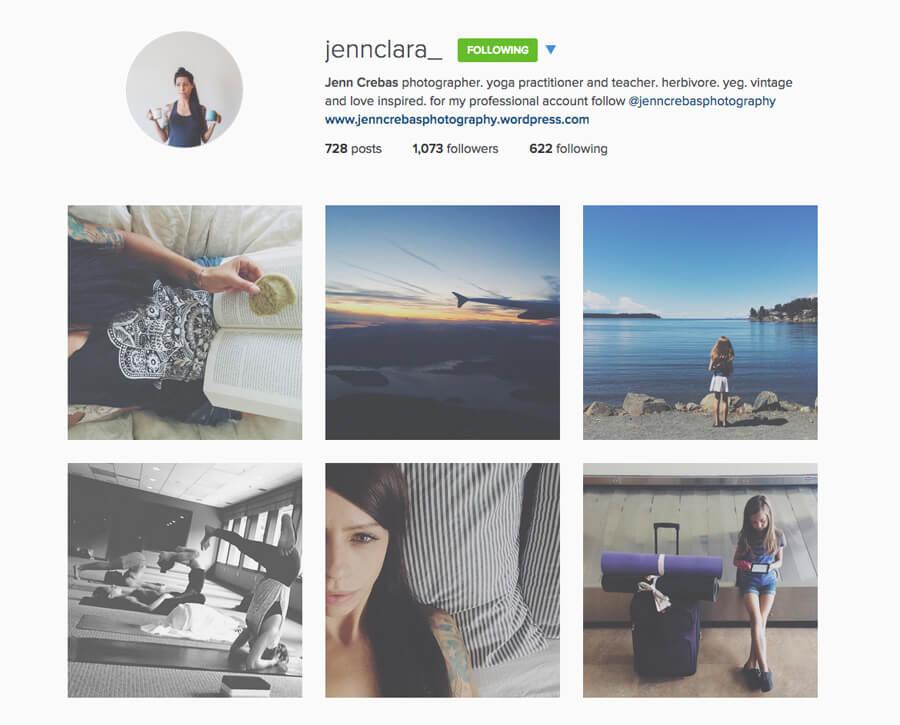 Edmonton Instagram Users - jennclara_