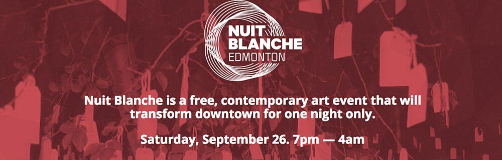 Nuit Blanche Edmonton Art