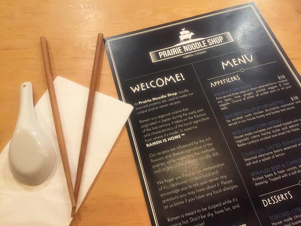 Prairie Noodle Shop - Edmonton - Ramen