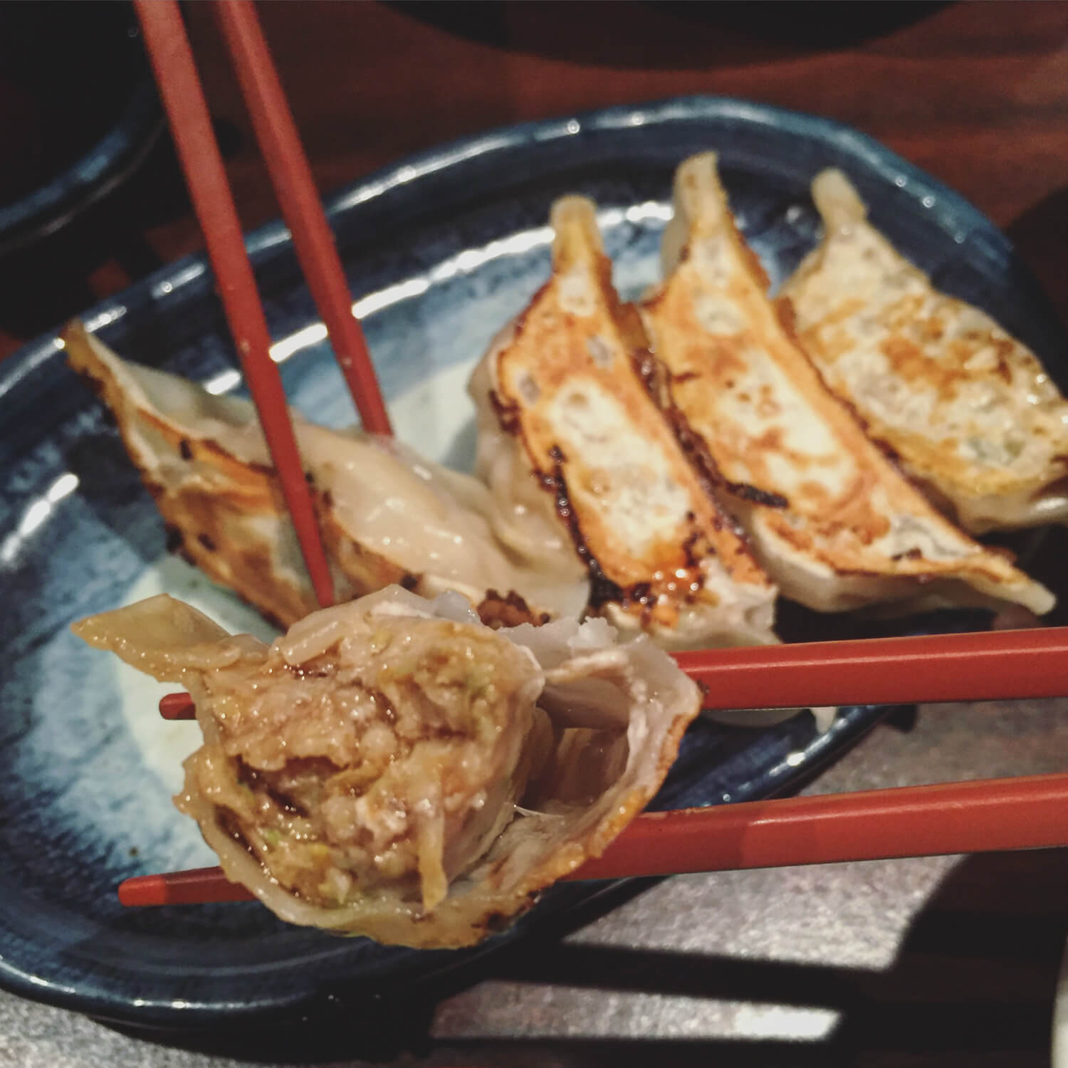 Gyoza from Santouka Ramen - Vancouver Food