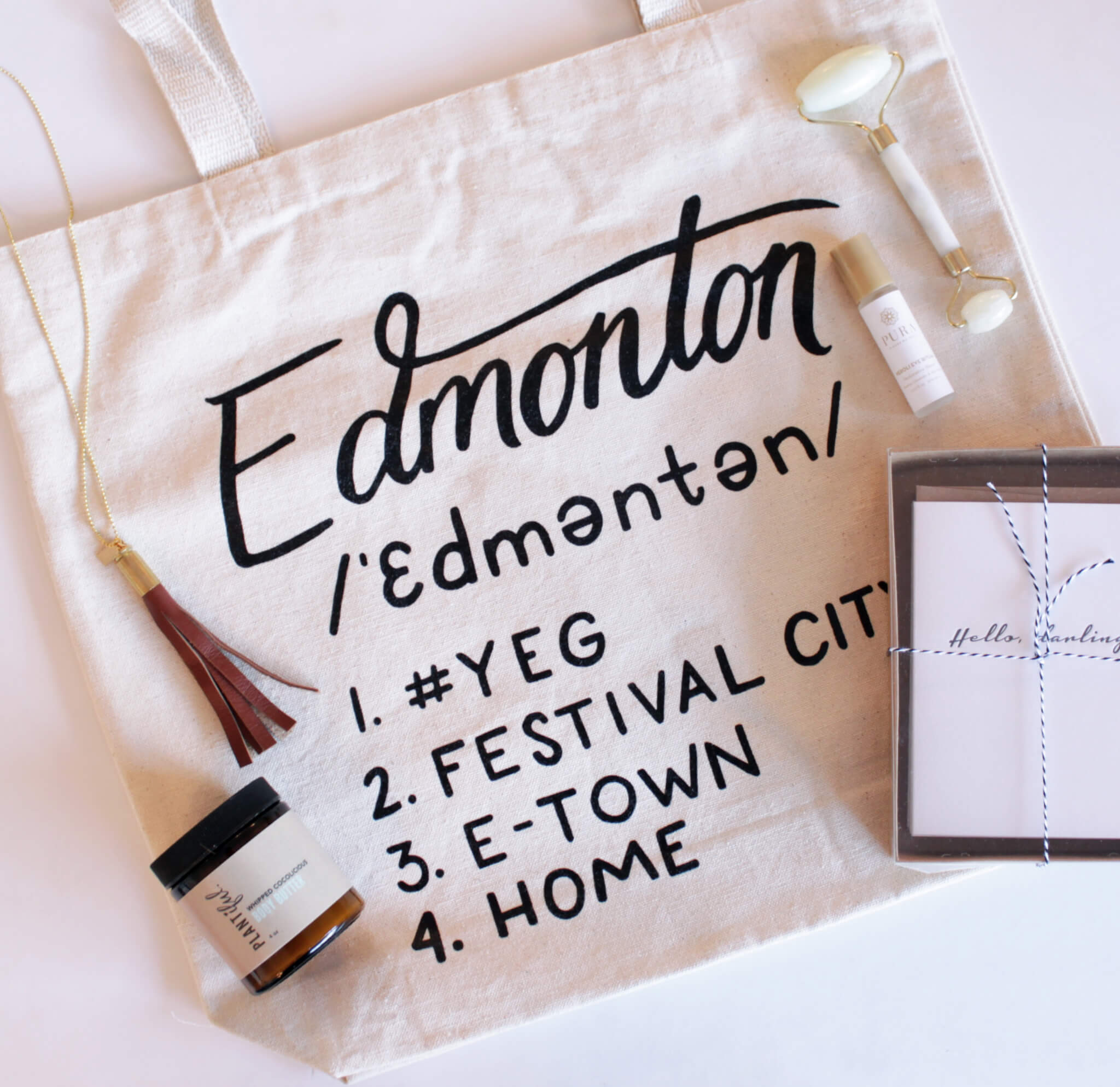Plum Home Design Edmonton Tote Giveaway