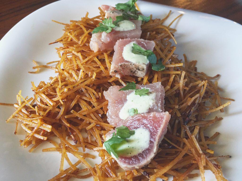 Edmonton Cooks Ahi Tuna Twists