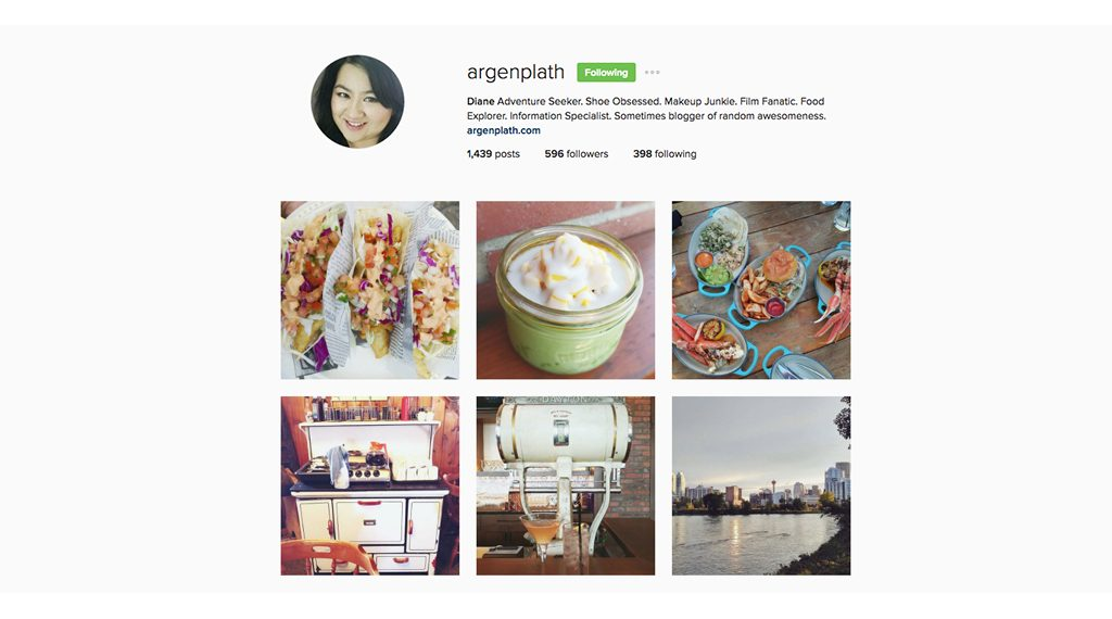 Instagram Edmonton - argenplath