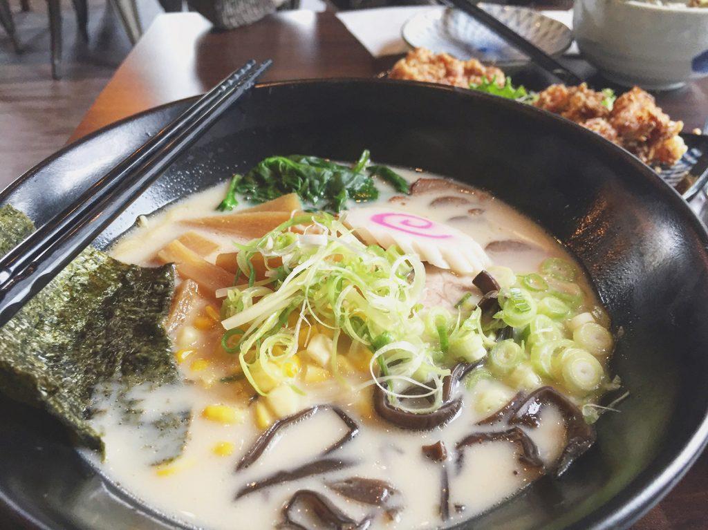 Nomiya Noodle Bar Ramen Tonkotsu